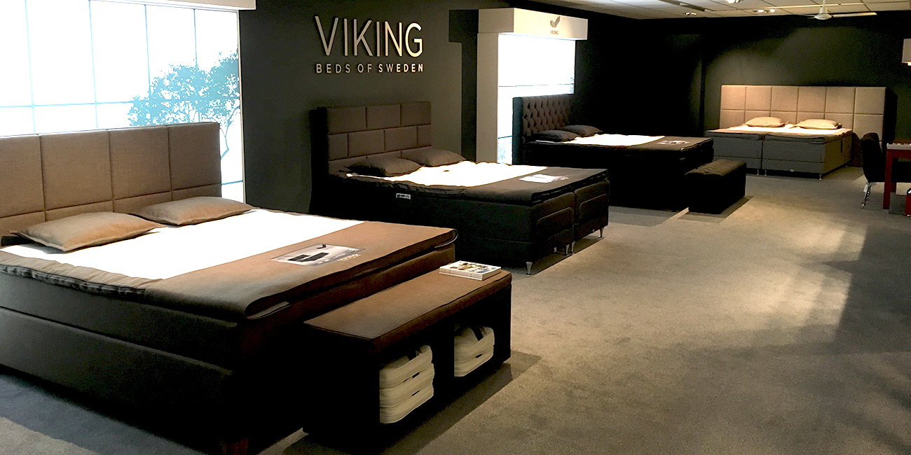 Viking, Beds Of Sweden…nú In Onze Slaapwoonwinkel
